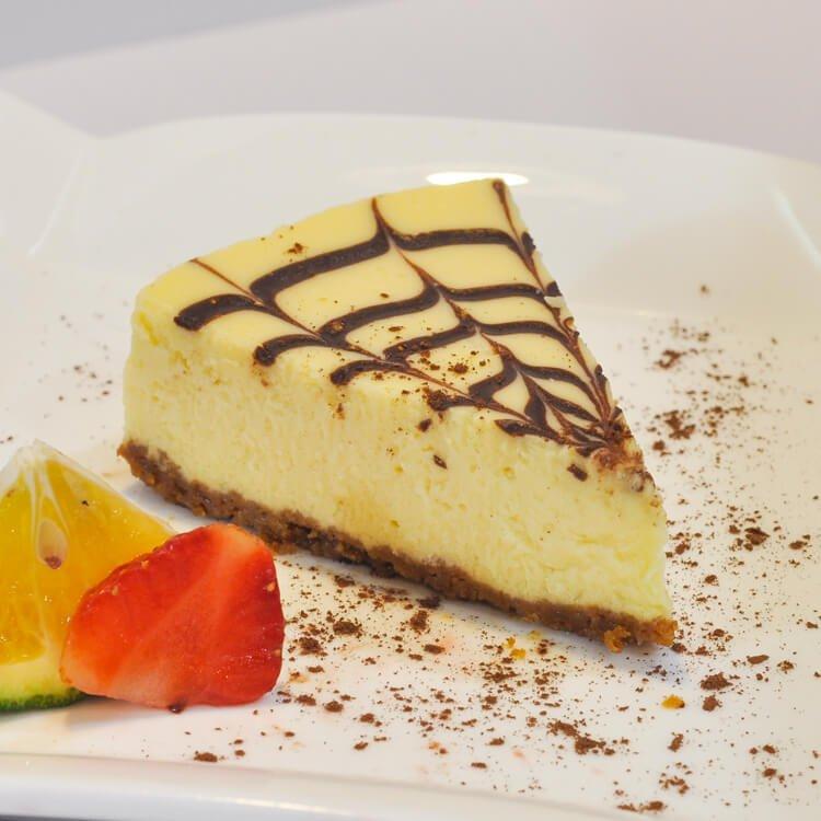 Choco swirl cheesecake