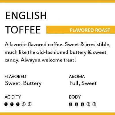 PJs' Flavored Roast - English Toffee
