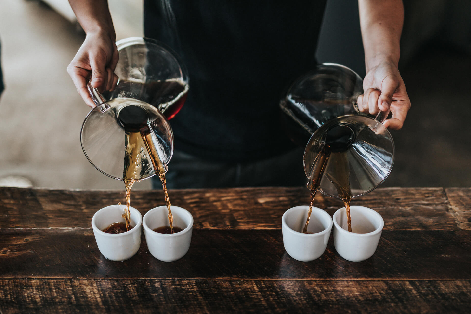 """REDEFINES THE DEFINITION OF COFFEE WITH OUR CAMPAIGN """"JUST TASTE THE DIFFERENCE"""""""