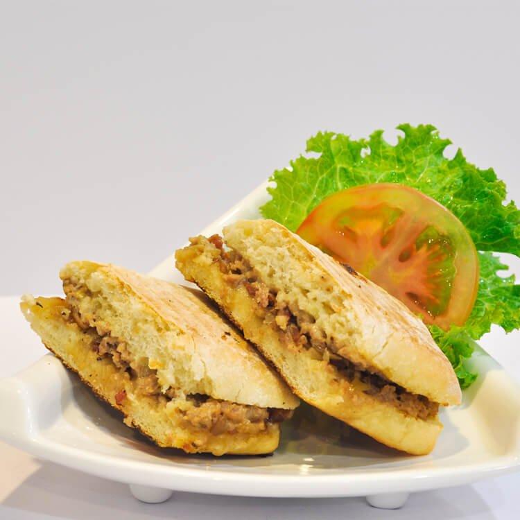 PJ's Meatloaf panini