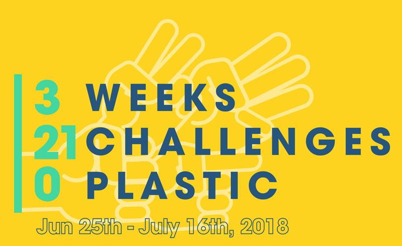 3210 Challenge – 3 Weeks, 21 Challenges, 0 Plastic