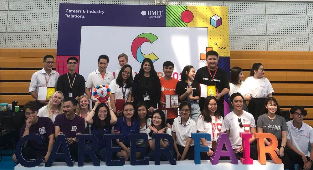 Fun, Games and Bright Futures with PJ's Coffee Vietnam at RMIT Career Fair 2019