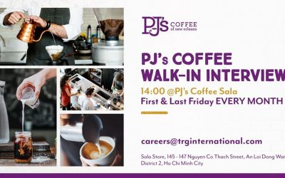 PJ's Coffee Walk-in Interview